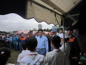 140901総合防災訓練4(三角巾)